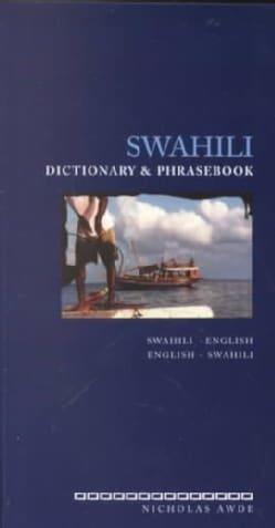 Swahili Dictionary and Phrasebook: Swahili-English English-Swahili (Paperback)