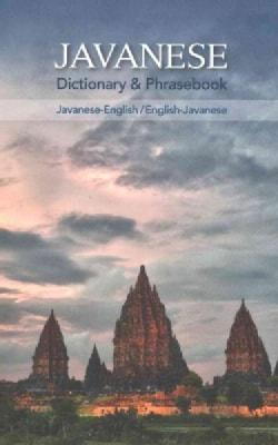 Javanese Dictionary & Phrasebook (Paperback)
