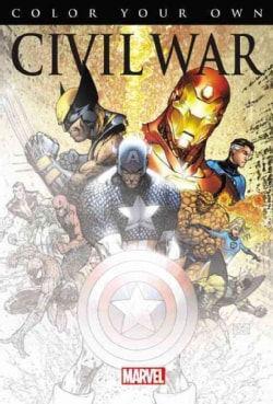 Color Your Own Civil War (Paperback)
