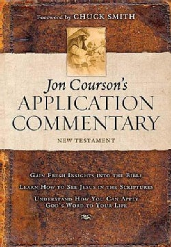 Jon Courson's Application Commentary: New Testament (Hardcover)