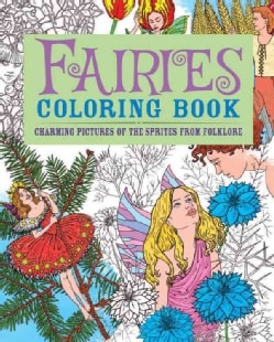 Fairies Coloring Book (Paperback)
