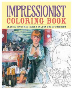 Impressionist Coloring Book (Paperback) - Thumbnail 0
