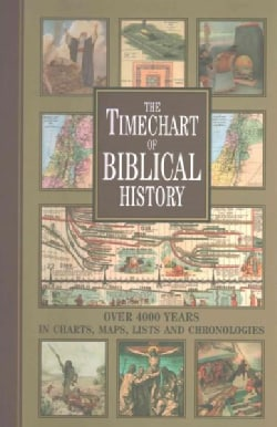 The Timechart of Biblical History: Over 4000 Years in Charts, Maps, Lists and Chronologies (Hardcover)