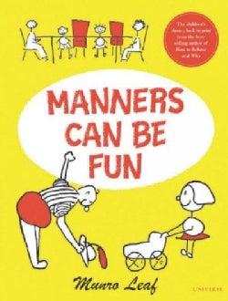 Manners Can Be Fun (Hardcover)