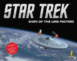 Star Trek: Ships of the Line: Includes 24 Ready-to-Frame Prints (Poster)
