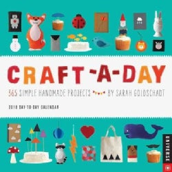 Craft-a-day 2018 Calendar: 365 Simple Handmade Projects (Calendar)