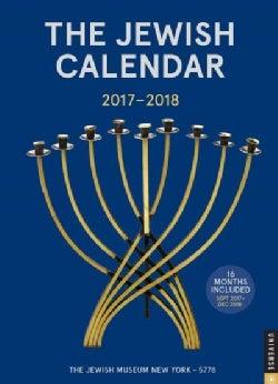 The Jewish 2017-2018 Calendar: Jewish Year 5778 16-month Calendar (Calendar)