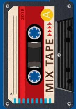 Mix Tape 2018 Executive Calendar (Calendar)