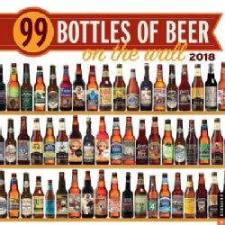 99 Bottles of Beer on the Wall 2018 Calendar (Calendar)