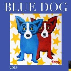 Blue Dog 2018 Calendar (Calendar)