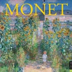 Monet 2018 Calendar (Calendar)