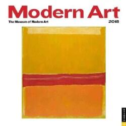 Modern Art 2018 Calendar (Calendar)