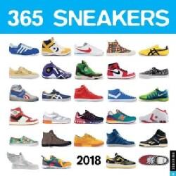 365 Sneakers 2018 Calendar (Calendar)