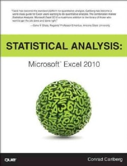Statistical Analysis: Microsoft Excel 2010 (Paperback)