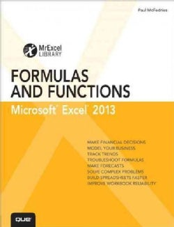 Excel 2013 Formulas and Functions (Paperback)