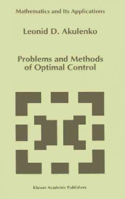 Problems and Methods of Optimal Control (Hardcover)