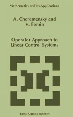 Operator Approach to Linear Control Systems (Hardcover)