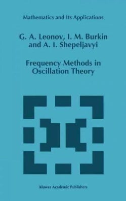 Frequency Methods in Oscillation Theory (Hardcover)
