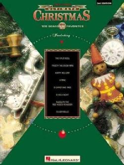 Christmas: 100 Seasonal Favorites : Easy Piano (Paperback)