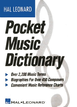 The Hal Leonard Pocket Music Dictionary (Paperback)