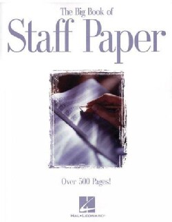 The Big Book of Staff Paper (Paperback)
