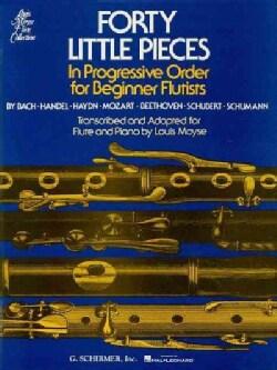 40 Little Pieces in Progressive Order (Paperback)