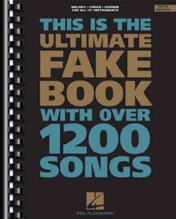 The Ultimate Fake Book: C Edition (Paperback)