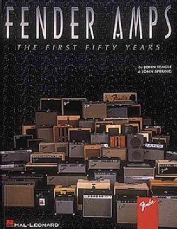 Fender Amps: The First Fifty Years (Paperback)