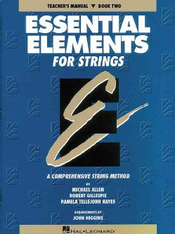 Essential Elements for Strings - Book 2 - Teacher Manual (Paperback)