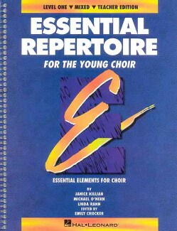 Essential Repertoire for the Young Choir Mixed Voices (Paperback)