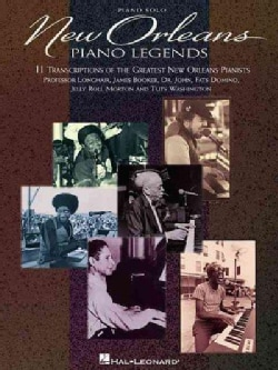 New Orleans Piano Legends (Paperback)