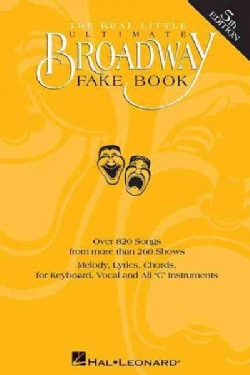 The Real Little Ultimate Broadway Fake Book (Paperback)