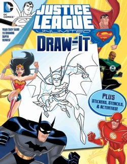 Justice League Unlimited Draw-It (Paperback)