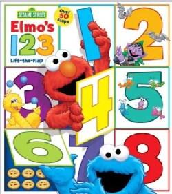 Sesame Street Elmo's 1 2 3 (Board book)