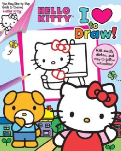 Hello Kitty: I Love to Draw! (Paperback)