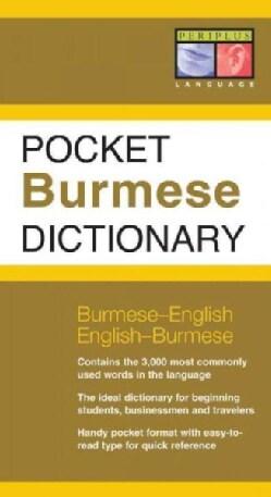 Pocket Burmese Dictionary: Burmese-english English-burmese (Paperback)