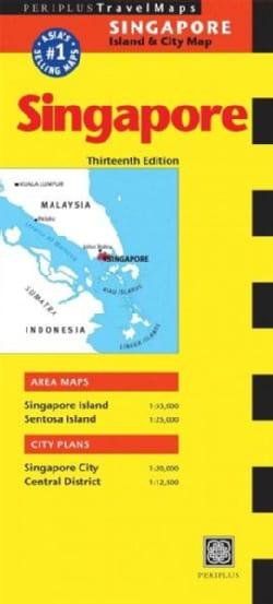 Periplus Travel Map Singapore: Island & City Map (Sheet map, folded)
