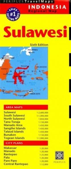 Periplus Travel Maps Sulawesi (Sheet map, folded)
