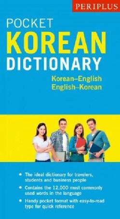 Periplus Pocket Korean Dictionary: Korean-english English-korean (Paperback)