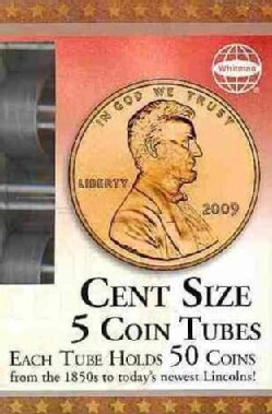 Cent Size: 5 Coin Tubes (Paperback)