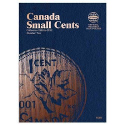 Canada Small Cents Coin Folder Number Two: Collection 1989 to 2012 (Hardcover)