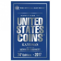 The Official Blue Book Handbook of United States Coins 2017 (Hardcover)