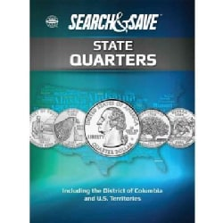 Whitman Search & Save State Quarters: Including the District of Columbia and U.S. Territories 1999 to 2009 (Paperback)