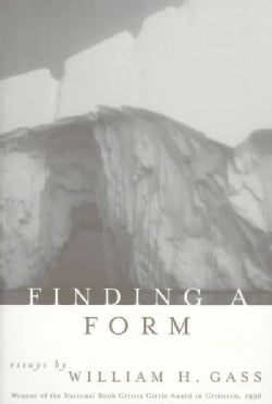 Finding a Form: Essays (Paperback)