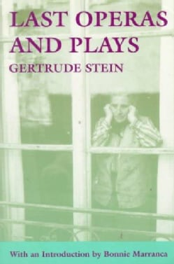 Last Operas and Plays (Paperback)