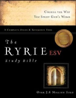 The Ryrie ESV Study Bible: English Standard Version Red Letter Edition, Complete Study & Reference Tool