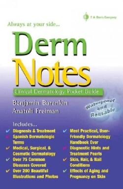 Derm notes: Dermatology Clinical Pocket Guide (Paperback)