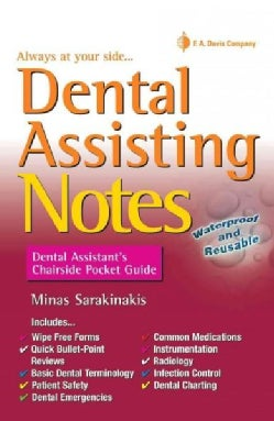 Dental Assisting Notes: Dental Assistant's Chairside Pocket Guide (Paperback)