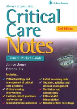 Critical Care Notes: Clinical Pocket Guide (Paperback)