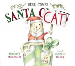 Here Comes Santa Cat (Hardcover)